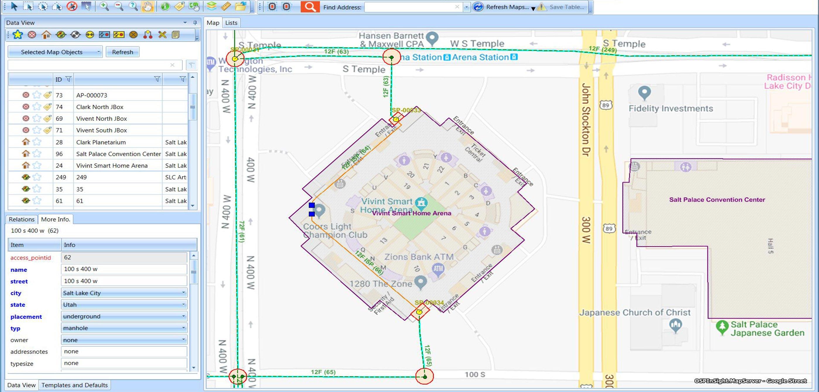 GIS for Fiber Optic Development