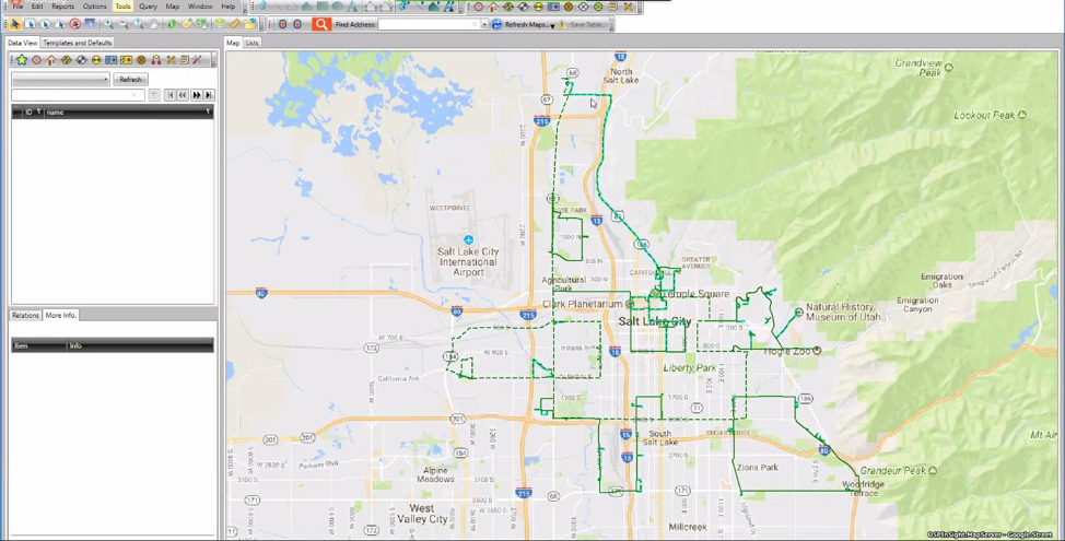 Map-Based with GIS integration