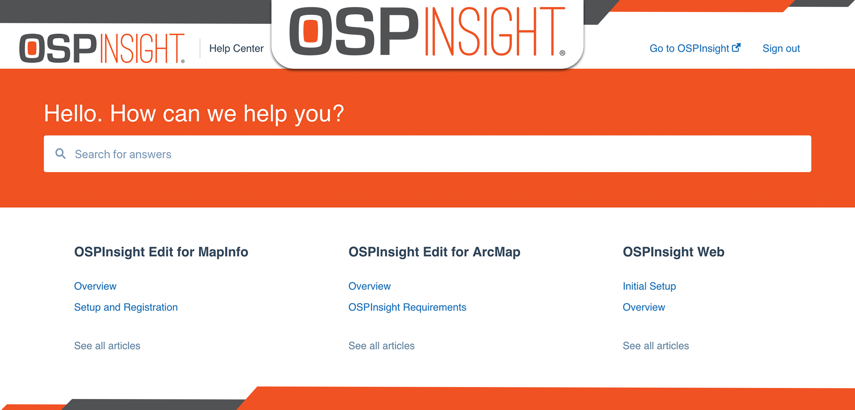 Introducing The OSPInsight Help Center (featured image)